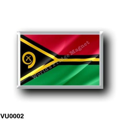 VU0002 Oceania - Vanuatu - Flag Waving