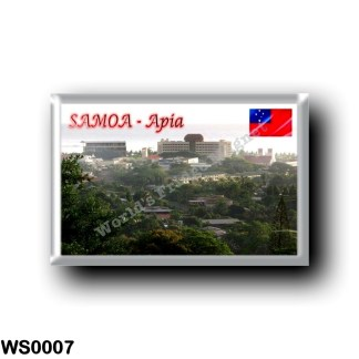 WS0007 Oceania - Samoa - Upolo I. - Apia