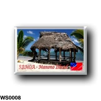WS0008 Oceania - Samoa - Manono Island - Fale