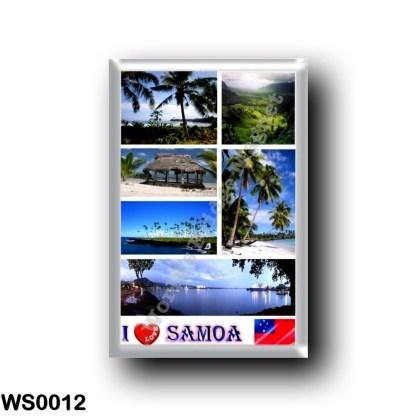 WS0012 Oceania - Samoa - I Love