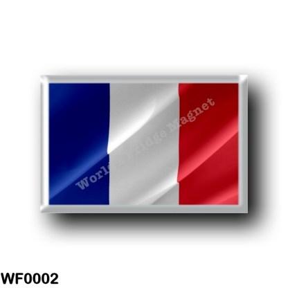 WF0002 Oceania - Wallis and Futuna - Flag Waving