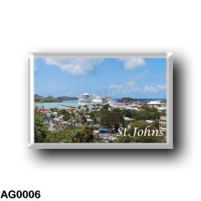 AG0006 America - Antigua and Barbuda - Saint Johns