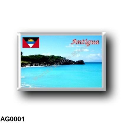 AG0001 America - Antigua and Barbuda - Antigua