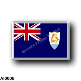 AI0006 America - Anguilla - Flag