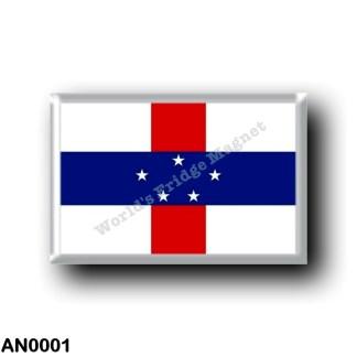 AN0001 America - Netherlands Antilles - Flag