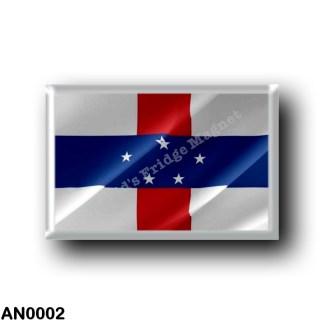 AN0002 America - Netherlands Antilles - Flag Waving