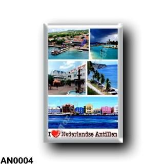 AN0004 America - Netherlands Antilles - I Love