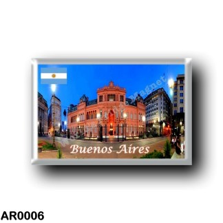 AR0006 America - Argentina - Buoenos Aires - Casa Rosada