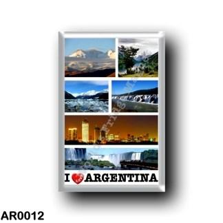 AR0012 America - Argentina - I Love