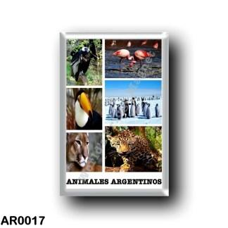 AR0017 America - Argentina - Mosaico Animales Argentinos