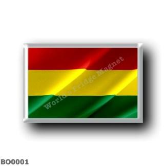 BO0001 America - Bolivia - Flag Waving