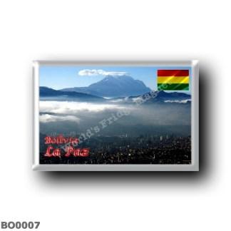 BO0007 America - Bolivia - La Paz - Amaneciendo