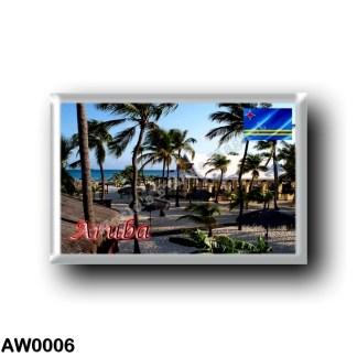 AW0006 America - Aruba - Manchebo Beach