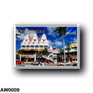 AW0009 America - Aruba - Oranjestad - Royal Plaza