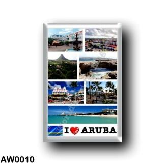 AW0010 America - Aruba - I Love
