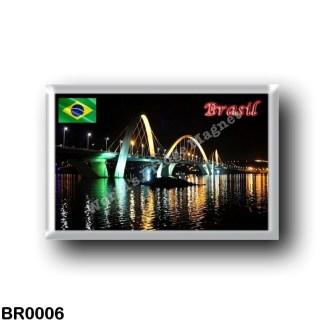 BR0006 America - Brazil - Brasília - Ponte JK