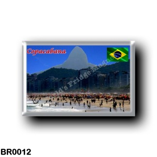 BR0012 America - Brazil - Copacabana