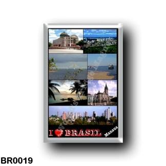 BR0019 America - Brazil - Manaus - I Love