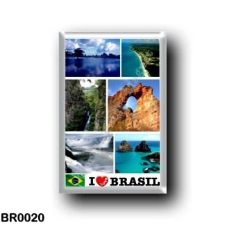 BR0020 America - Brazil - Brazil - I Love A