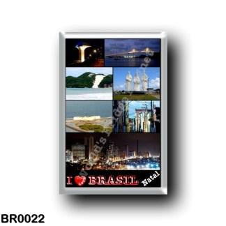 BR0022 America - Brazil - Natal - I Love