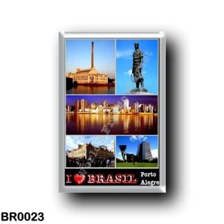 BR0023 America - Brazil - Porto Alegre - I Love