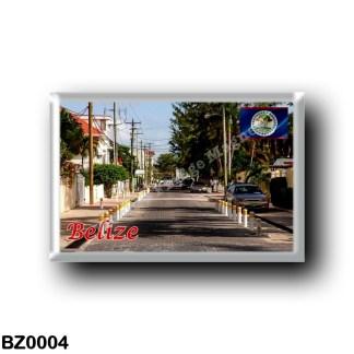 BZ0004 America - Belize - City
