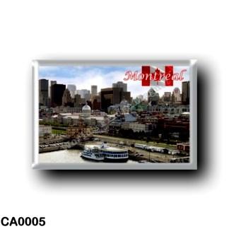 CA0005 America - Canada - Montréal - Panorama