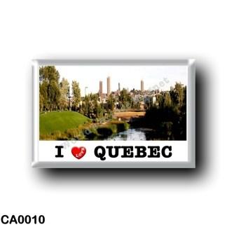 CA0010 America - Canada - Québec - I Love
