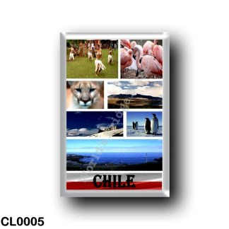 CL0005 America - Chile - I Love B