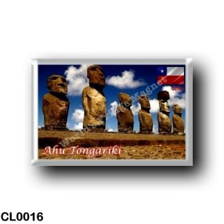 CL0016 America - Chile - Isla De Pascua - Ahu Tongariki