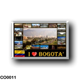 CO0011 America - Colombia - Bogotà - I Love