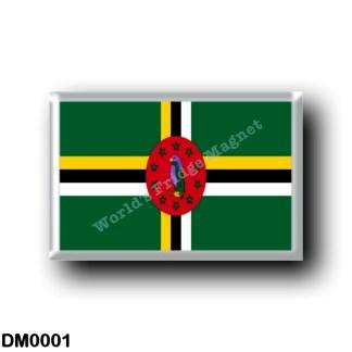 DM0001 America - Dominica - Dominican flag