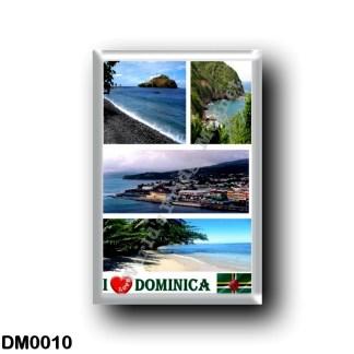 DM0010 America - Dominica - I Love