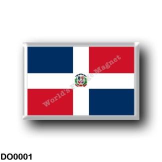 DO0001 America - Dominican Republic - Dominican flag