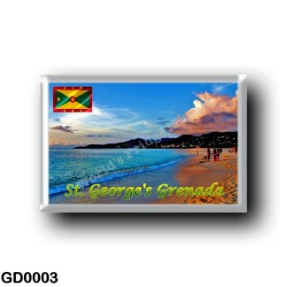 GD0003 America - Grenada - Saint George - Grand Ans Beach