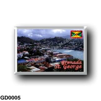 GD0005 America - Grenada - Saint George
