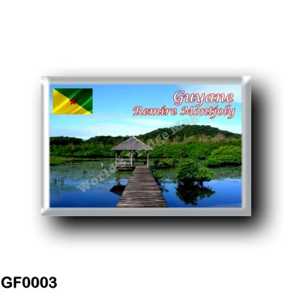GF0003 America - French Guiana - Remire Montjoly - Forested landscape