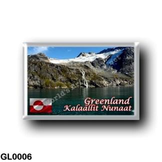 GL0006 America - Greenland - Nuuk Fjord
