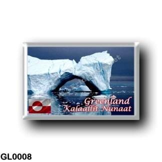 GL0008 America - Greenland - Icebergs