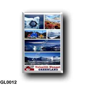 GL0012 America - Greenland - Mosaic