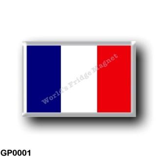 GP0001 America - Guadeloupe - Flag