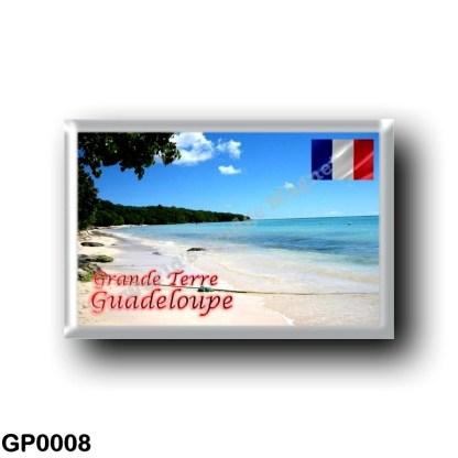 GP0008 America - Guadeloupe - Grande-Terre - Plage