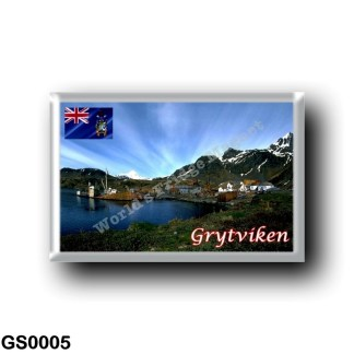 GS0005 America - South Georgia and the South Sandwich Islands - Grytviken - Whaling Station