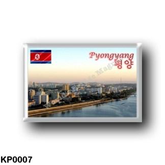 KP0007 Asia - North Korea - Pyongyang - Taedong River
