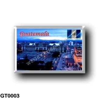 GT0003 America - Guatemala - Guatemala City - Central Park
