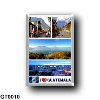 GT0010 America - Guatemala - I Love