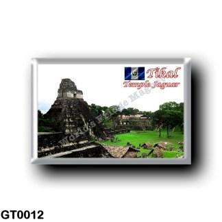 GT0012 America - Guatemala - Tikal - Temple Jaguar
