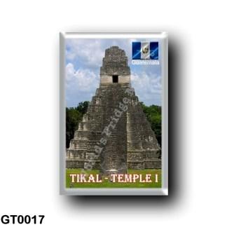 GT0017 America - Guatemala - Tikal - Temple I