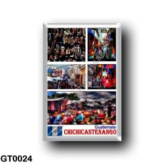 GT0024 America - Guatemala - Chichicastenango - Mosaic