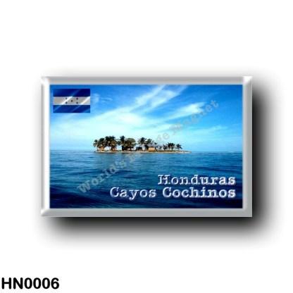 HN0006 America - Honduras - Cayos Cochinos